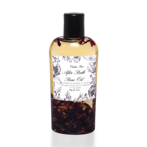 After Bath Rose Body Oil