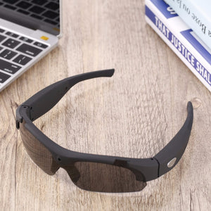 Sunglasses with Polarized Lenses and 1080P HD Camera