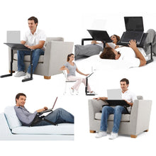 Portable Adjustable Ergonomic Aluminum Laptop Desk & Mouse Tray