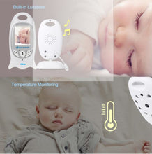 Baby Camera Video Monitor with Temperature & Night Vision Detection