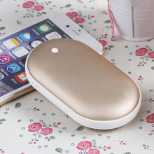 2 In 1 USB Rechargeable Hand Warmer + Power Bank