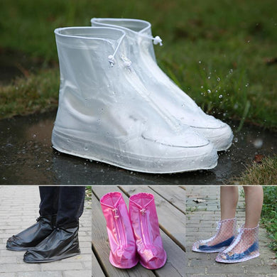 Unisex Reusable Slip Resistant Waterproof Shoe Covers