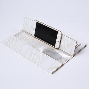 12 Inch Wooden Stereoscopic Phone Screen Enlarger