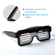 Retro Party LED Luminous Glasses