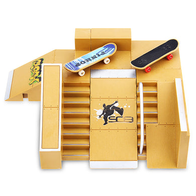 Mini Finger Skateboard Ramp Kit