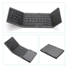 Foldable Bluetooth Wireless Keyboard for iOS, Android, Windows, PC, Tablet
