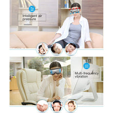 Breo Intelligent Eye Massager - Air Pressure, Heat & Vibration