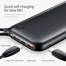Baseus 20000mAh Power Bank Smartphone Power Charger for iPhone, Android & Macbook