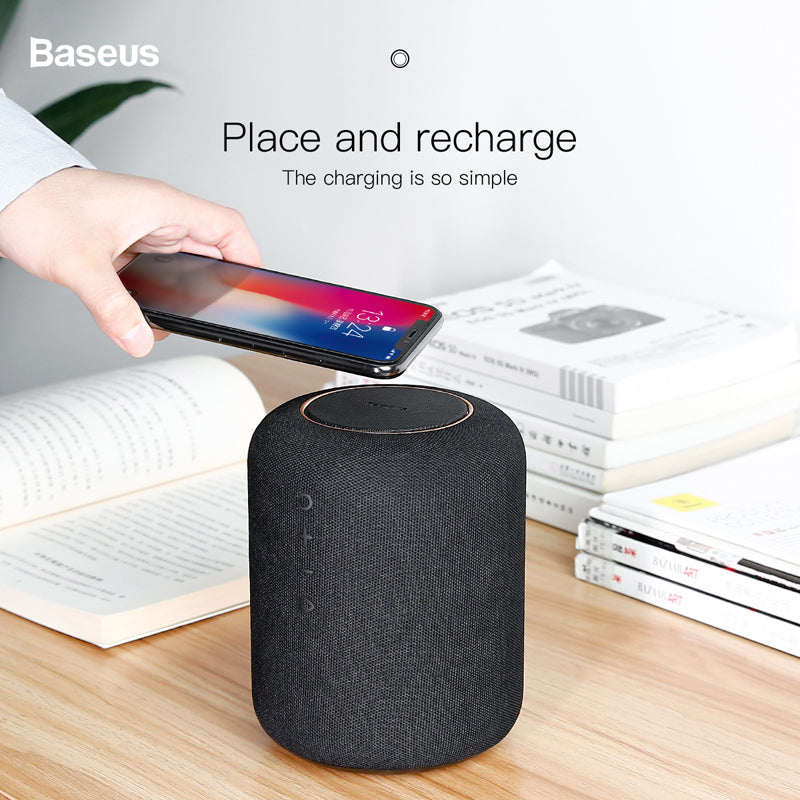 Baseus 24W Bluetooth Wireless Speaker with Battery Charging for iPhone & Android Phones