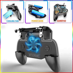 Mobile Gaming Controller PUBG/Fortnite/Rules of Survival with Battery Powerbank