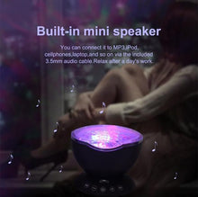 Relaxing LED Ocean Wave Night Sky Projector