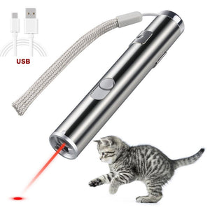 3-In-1 Multi-Purpose Laser Pointer with Red Laser, UV, White Flashlight
