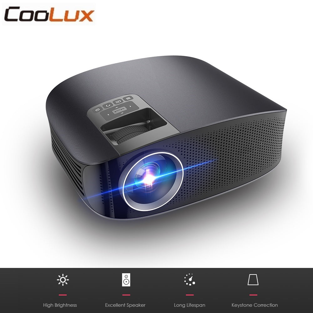 Coolux YG600 3500 Lumens Home Theatre Video Projector