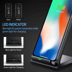 10W Fast Qi Wireless Charging Dock