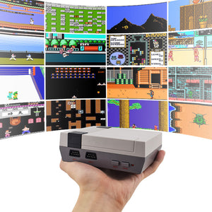 8 Bit Retro Video Game Console with Built-In 600 Games