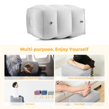 Inflatable Travel Foot Rest