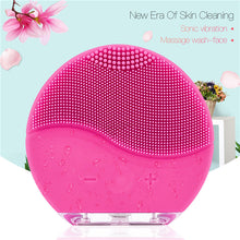 Ultrasonic Silicone Facial Cleanser & Massager