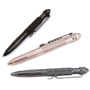 Multipurpose Aircraft Aluminum Pen With Glass Breaker