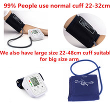 Saint Health Fully Automatic Upper Arm Digital Blood Pressure Cuff with AC Adapter