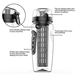 34 Oz Fruit Infuser Water Bottle