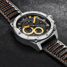 Black Fusion Luxury Chronograph Quartz Watch for Men