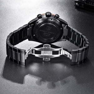 Earth Chronograph Quartz Watch for Men