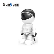 SunEyes Robot Survelliance Camera with 1080P Video & Smart Pan/Tilt