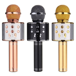 Wireless Bluetooth Karaoke Microphone with Speaker