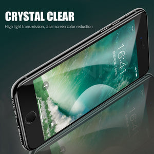 Full Cover 6D Scratch Proof Screen Protector For iPhone (Pack of 2)