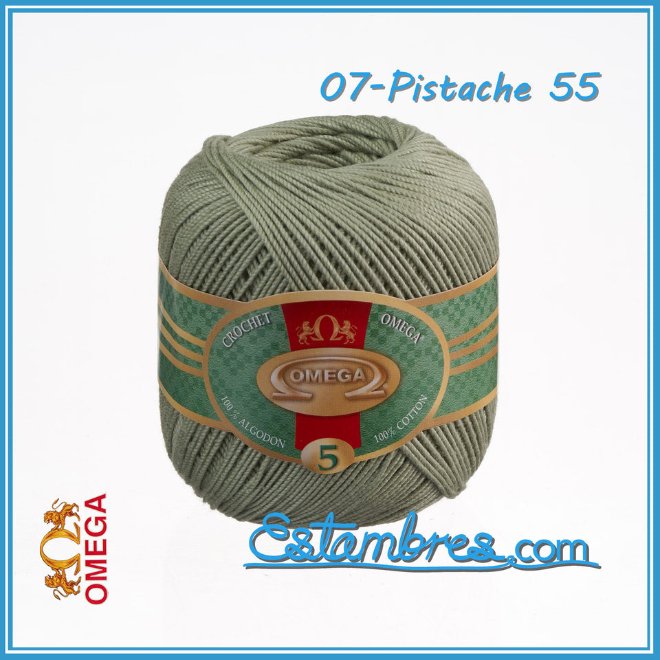 Omega Crochet No.5 [50grs] - 100% Mercerized Cotton Thread | Brilliant Thread for Crafts