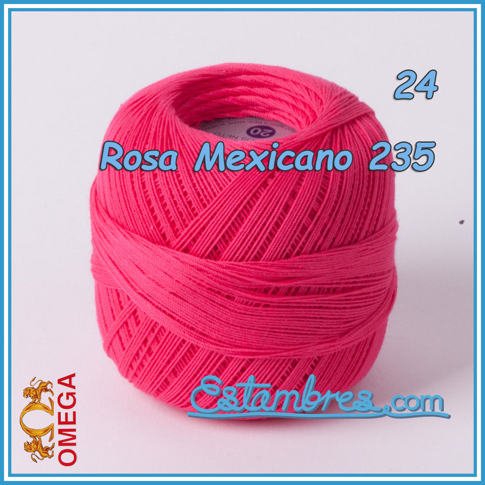 Omega Crochet No.20 [30grs] - 100% Mercerized Cotton Yarn | Omega Crochet Thread