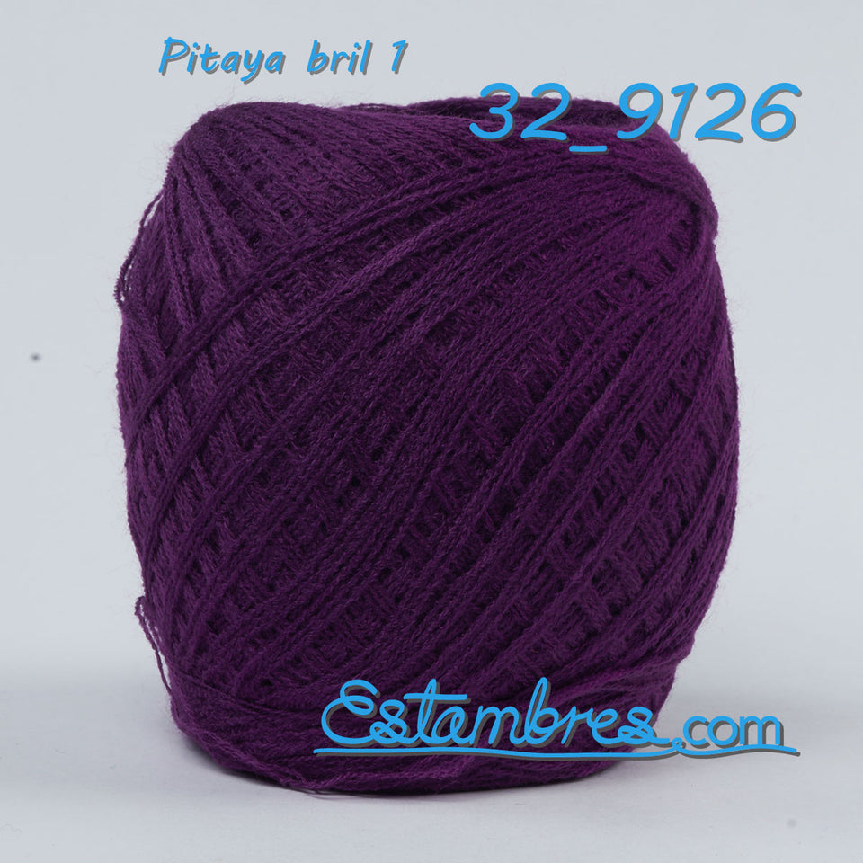 Acrilan 3 Hebras [50grs] 1/2 - Unwound 3-ply Acrylic yarn for knitting, embroidery and crafts