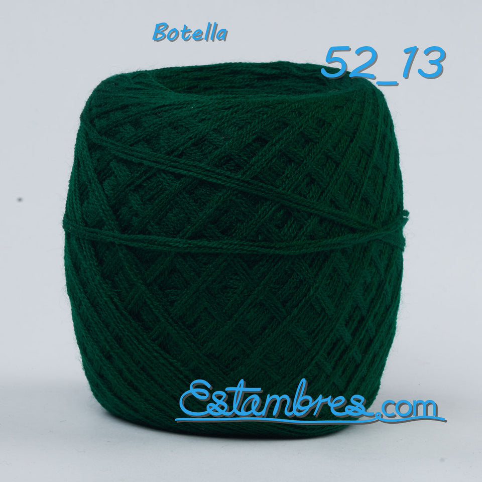 Acrilan 3 Hebras [50grs] 2/2 - Unwound 3-ply Acrylic yarn for knitting, embroidery and crafts