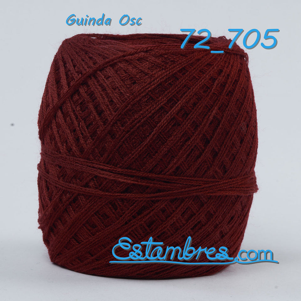 Acrilan 3 Hebras [100grs] 2/2 - Unwound 3-ply Acrylic yarn for knitting, embroidery and crafts