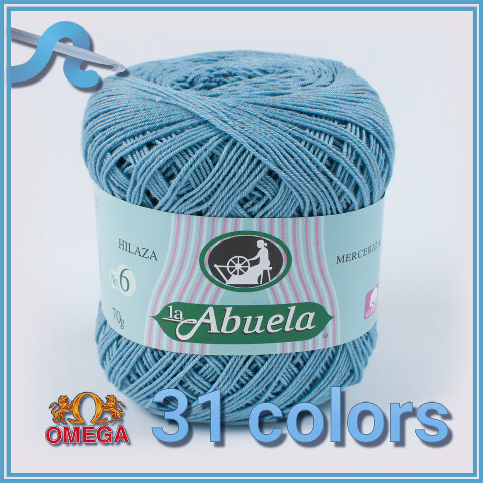 Abuela No.6 [70grs] - Omega 100% Mercerized Cotton Yarn