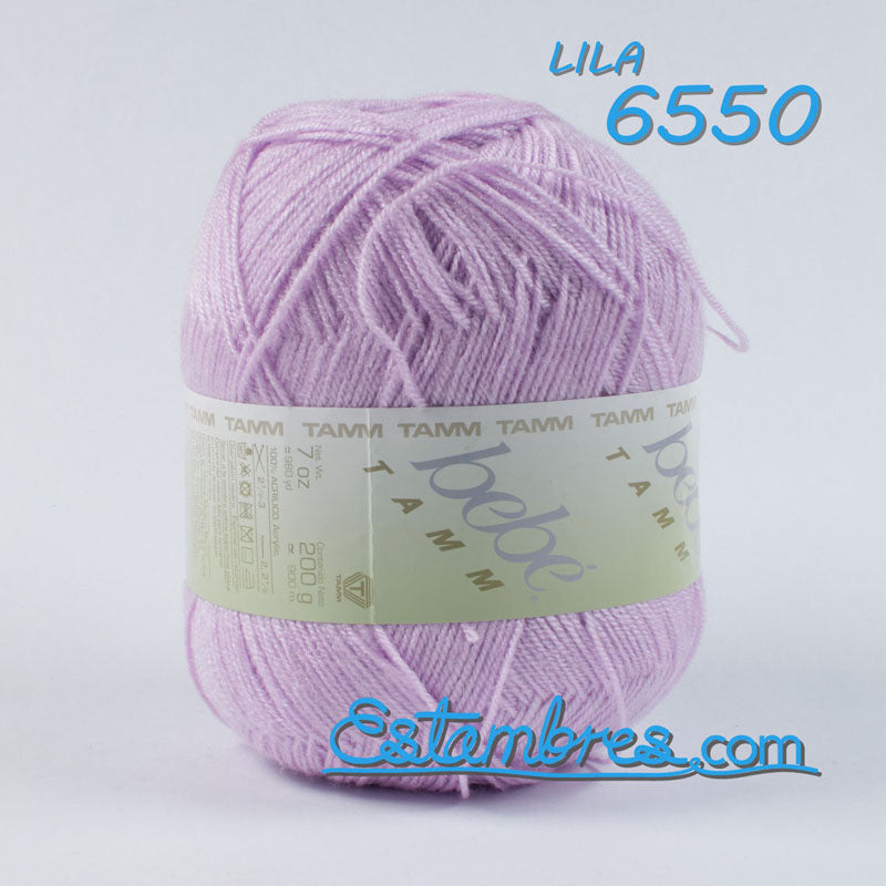 Bebe TAMM [200grs] - Soft Yarn for Baby Clothes and Blankets