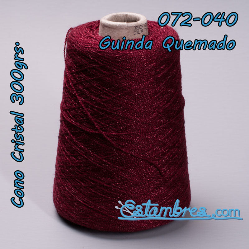 Crystal [300grs] 2/2 - La Pantera Rosa | Crochet Thread Yarn | Mexican Crystal Yarn for Clothing and Crafts
