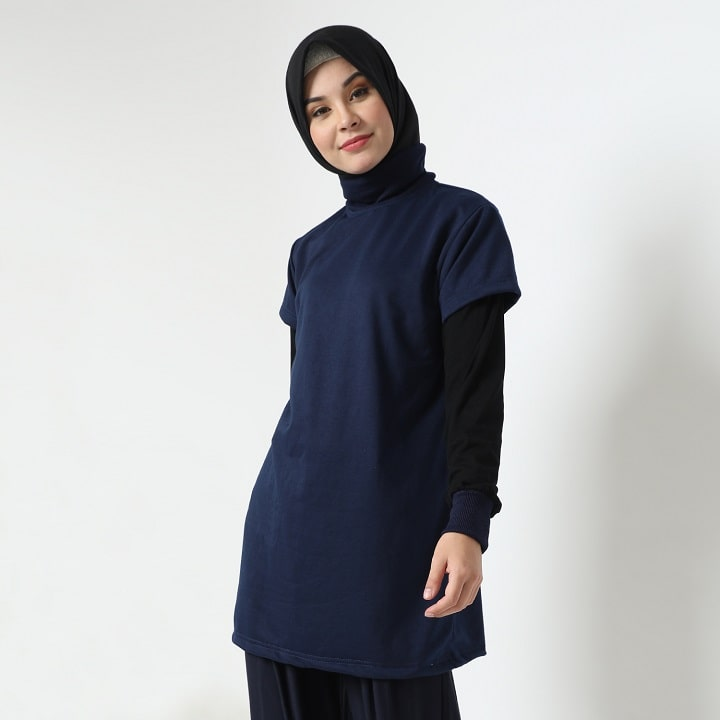 Tisha Top - Navy