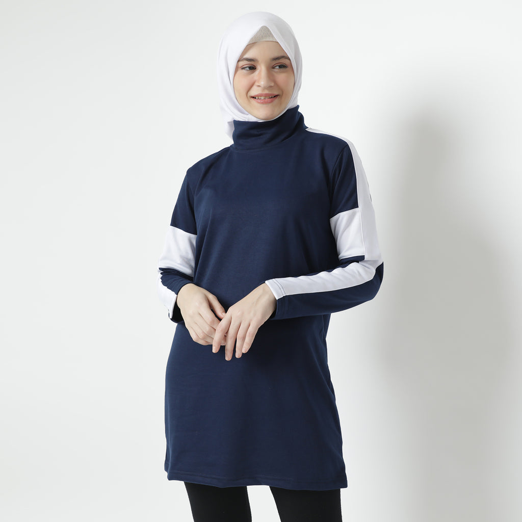 Rona Top - Navy