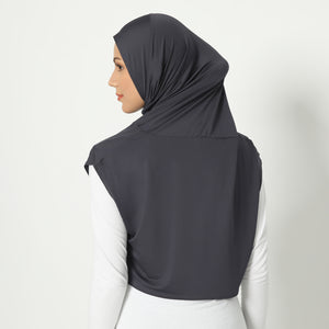 Adeeva Hijab - Dark-Grey