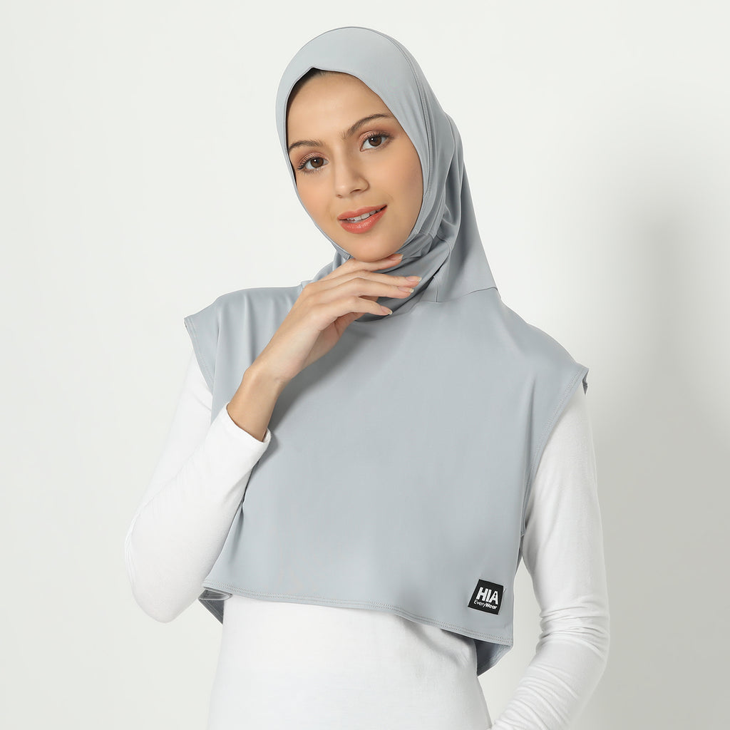Adeeva Hijab - Light-Grey