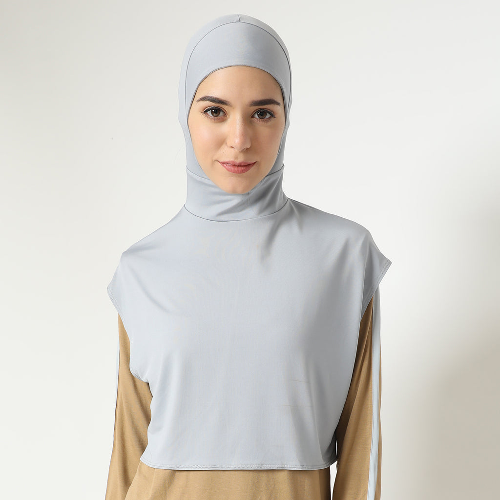 Albeela Hijab - Light Grey