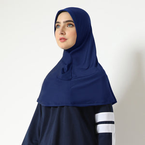 Aretha Hijab - Navy (One Color)