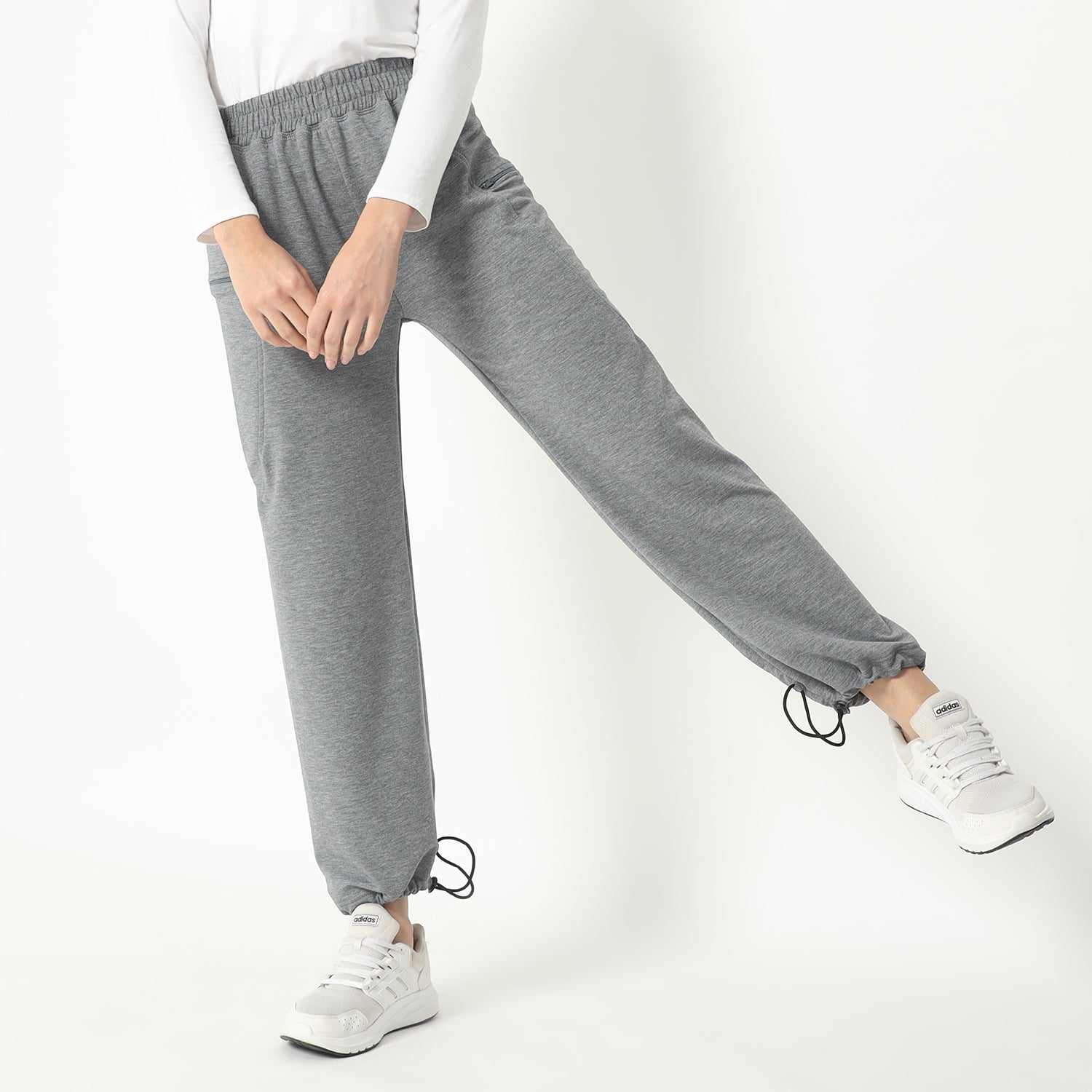 BECCA PANTS - DUSTY GREY