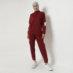 Bellani Set - Maroon