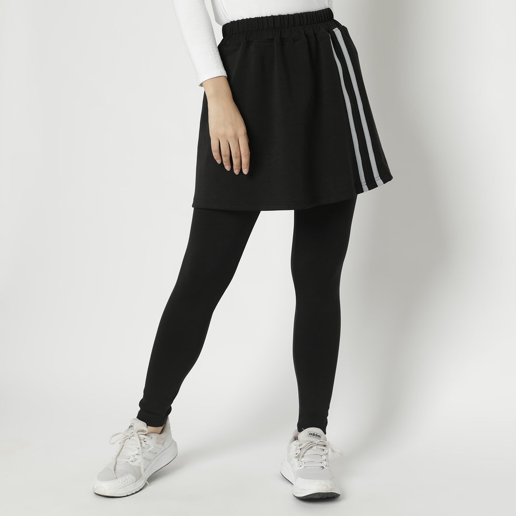Callin Skirt Legging - Black