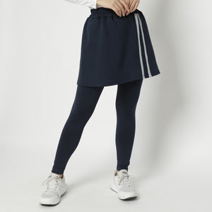 Callin Skirt Legging - Navy