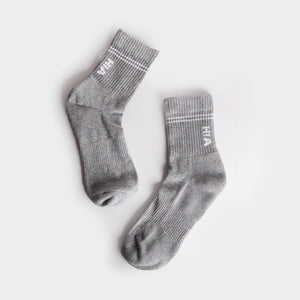 Kaos Kaki - Light Grey