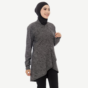 Ciara Top - Hitam