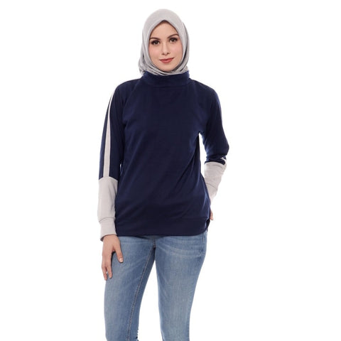 Namira Top - Navy